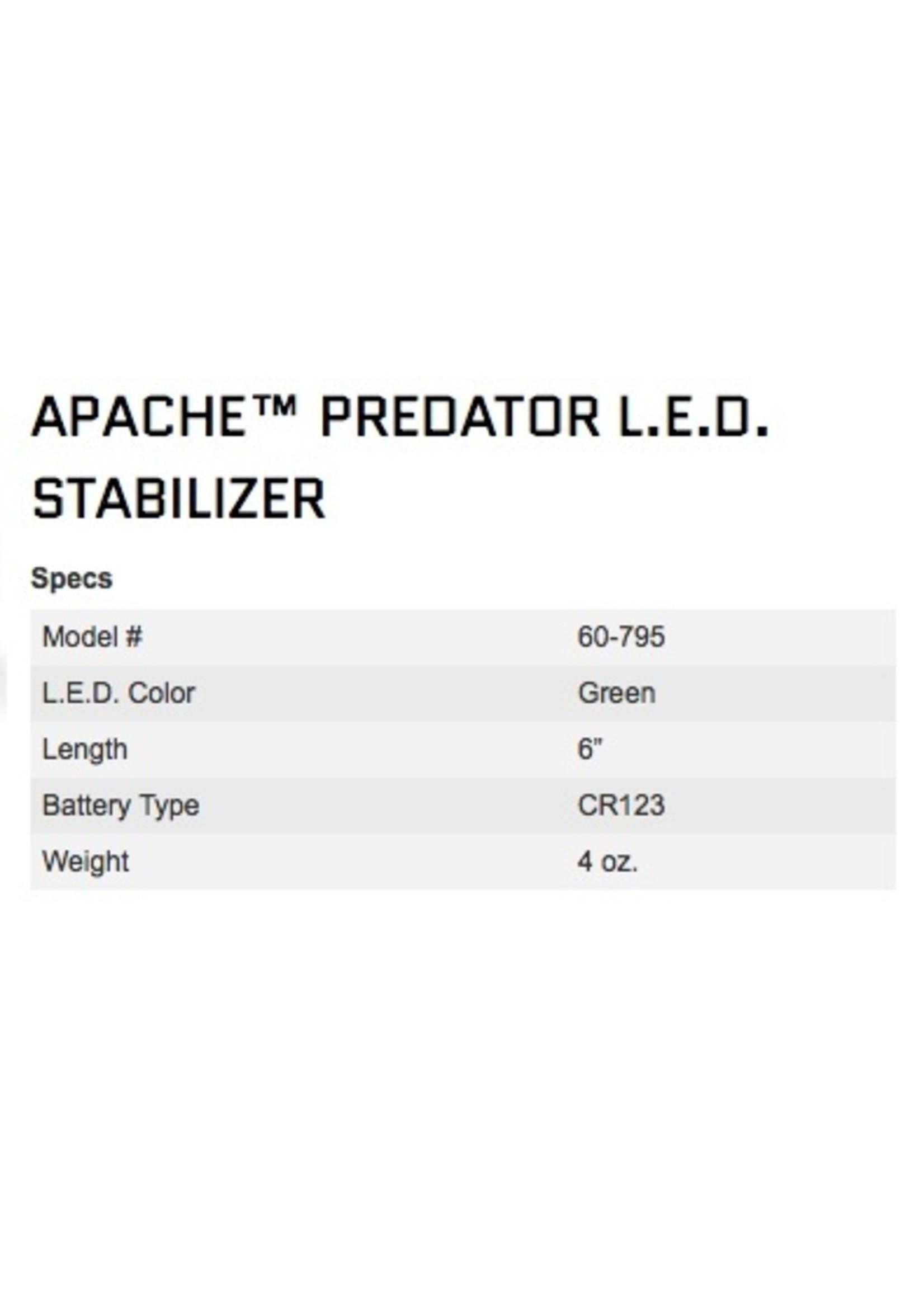 NAP Archery NAP Apache Predator Stabilizer LED Torch Green