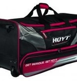 Hoyt Hoyt Rolling Duffle Bag Red