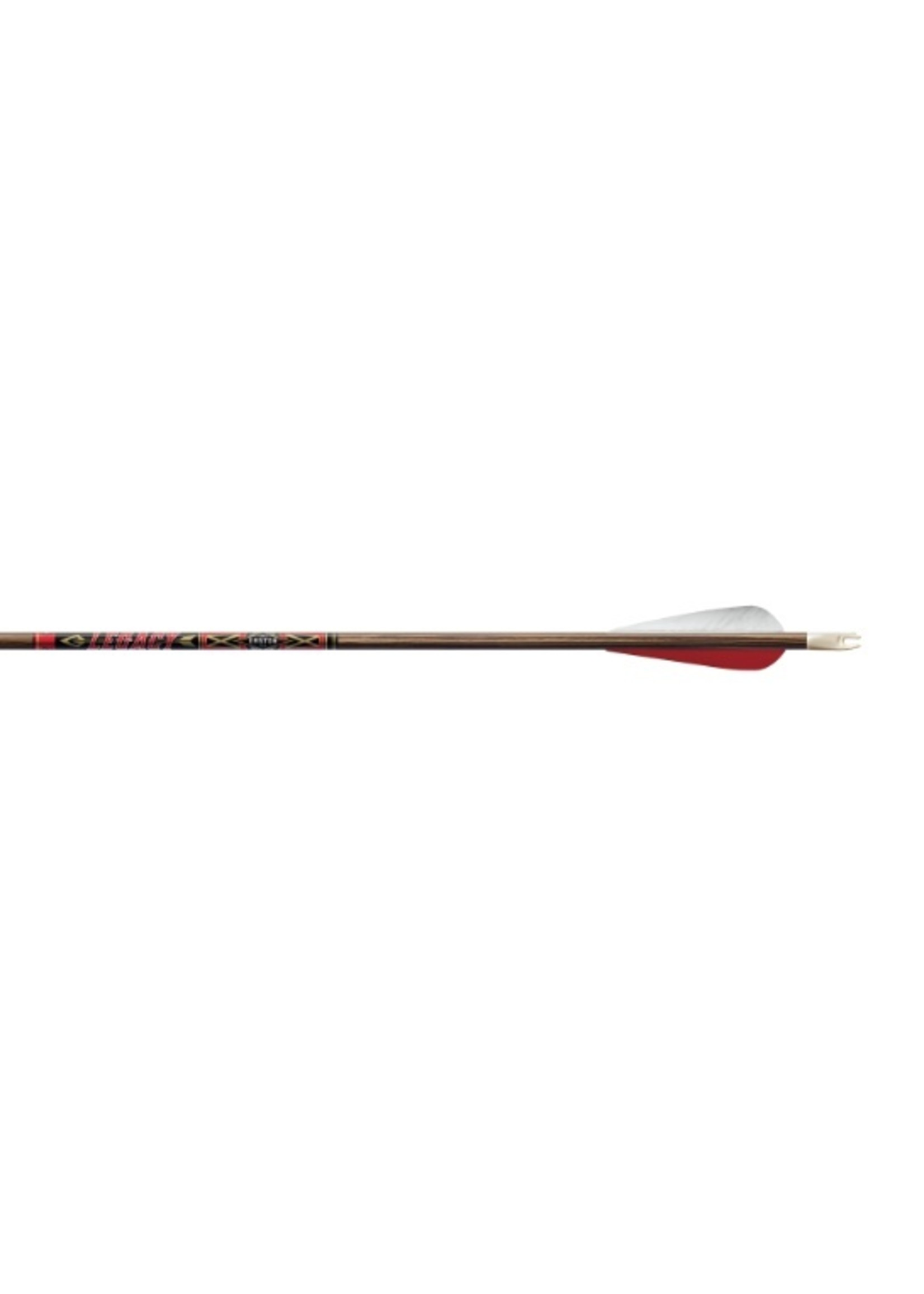Easton Archery Easton Legacy Arrows Fletched with Feathers