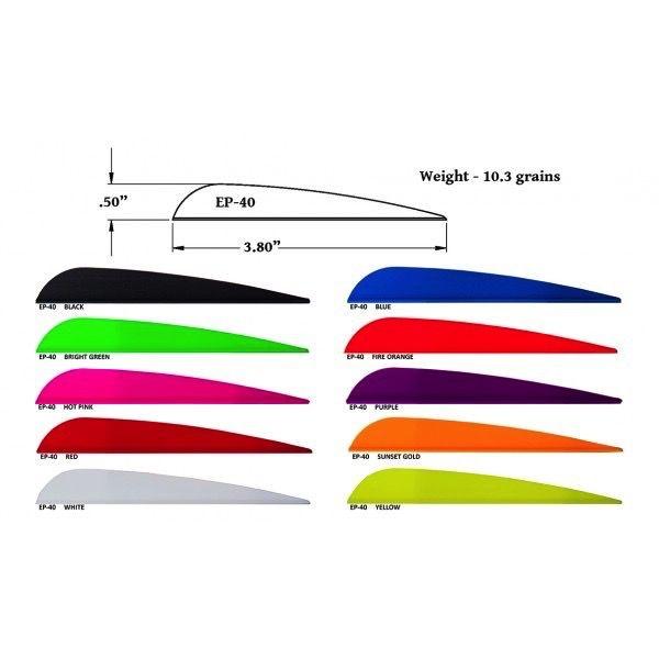 AAE AAE Plastifletch EP-40 - 100pk