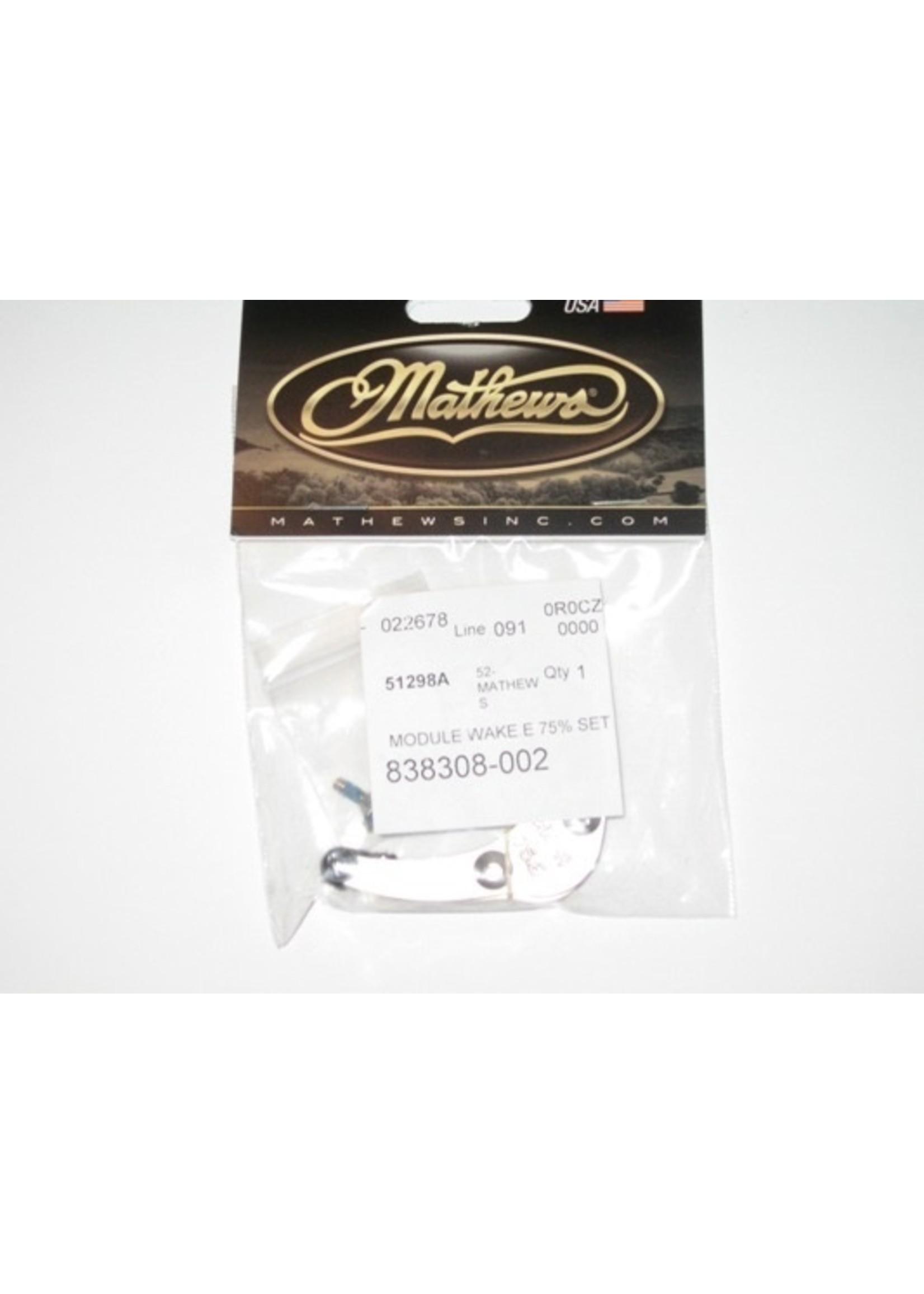 Mathews Inc Mathews Wake Modules