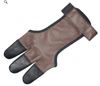 Legacy Legacy Full Leather Shootign Glove with Leather Tips