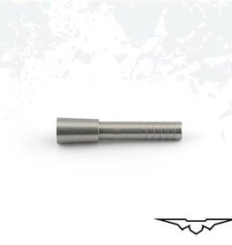 Black Eagle Black Eagle Bone Crushing Half Out Insert Stainless Steel