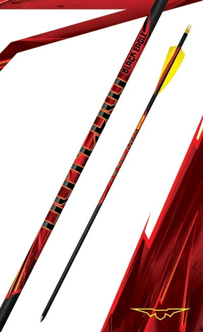 Black Eagle Black Eagle Outlaw Arrows with Feathers