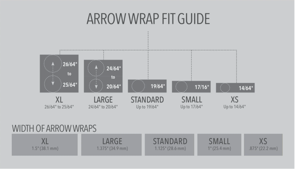 Bohning Bohning Arrow Wraps Solid Colour