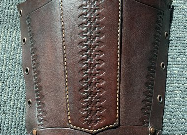 Leather  Armguards