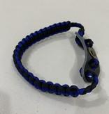 diamond Diamond Cobra Braided Wrist Sling with leather