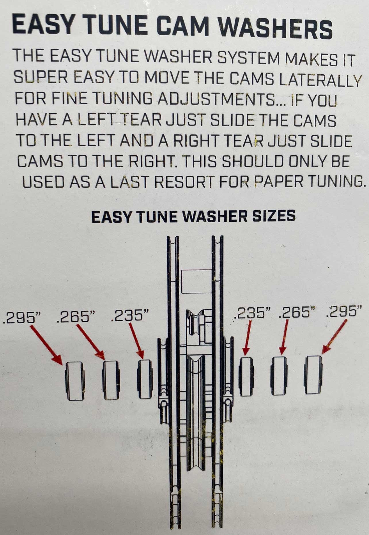 Prime Prime Easy Tune Washers