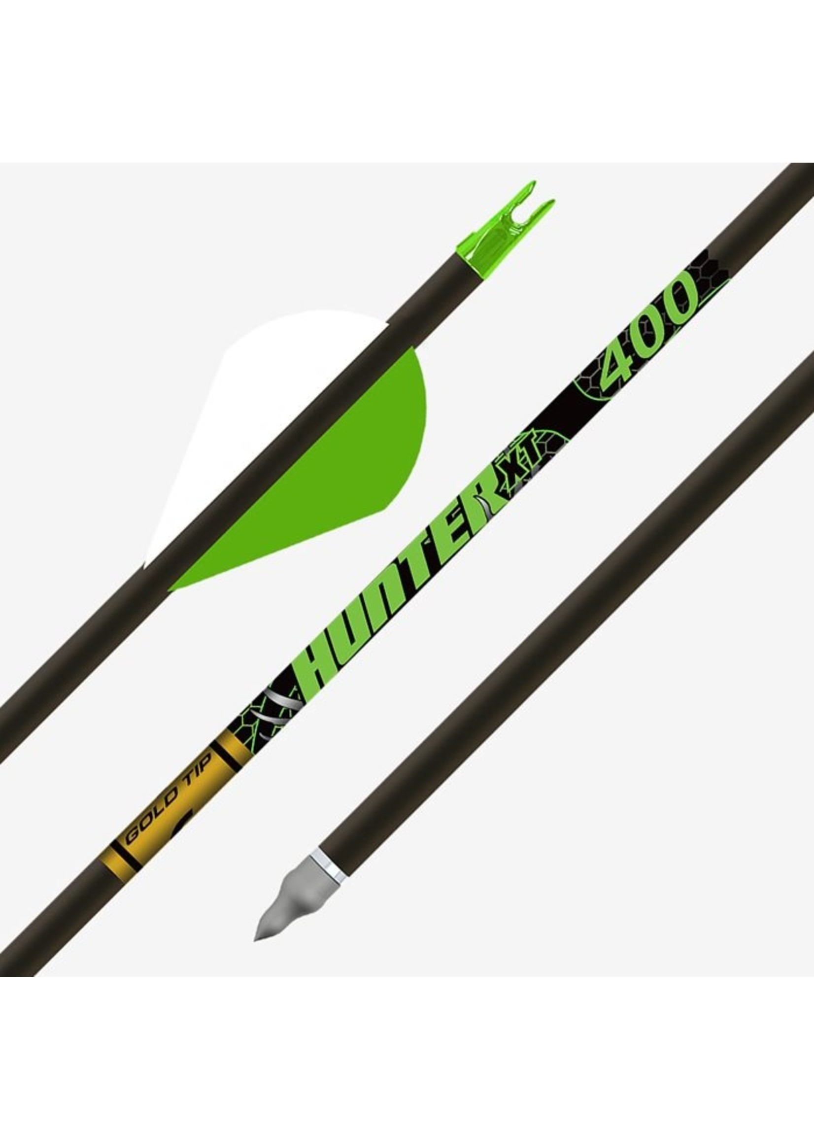 """Gold Tip Gold Tip Arrow XT Hunter Fletched with 2"""" Vanes"""