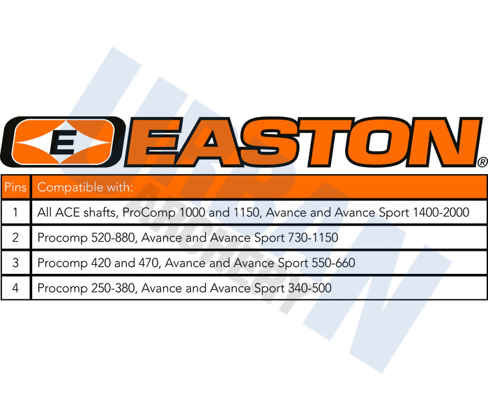 Easton Archery Easton Pin 4mm