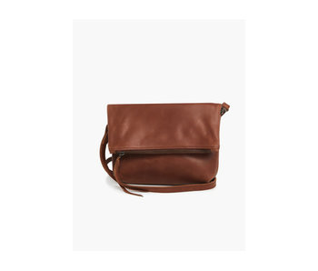 Able New Emnet Foldover Crossbody -Whiskey