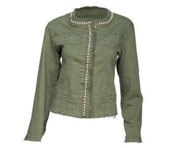 Arianna Studded front jacket