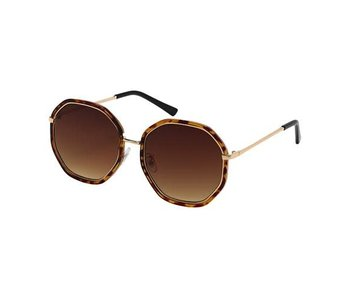 Blue Gem Sunglasses -Jade Collection -Tortoise/gold/gradient brown