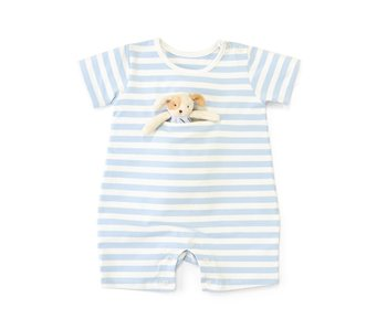 Bunnies by the Bay Skipit Romper with Binkie