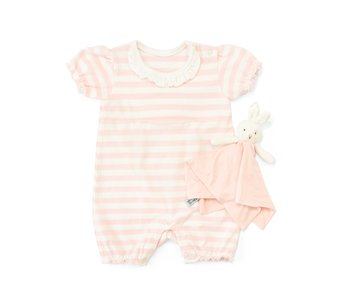 Bunnies by the Bay Blossom Romper with Binkie
