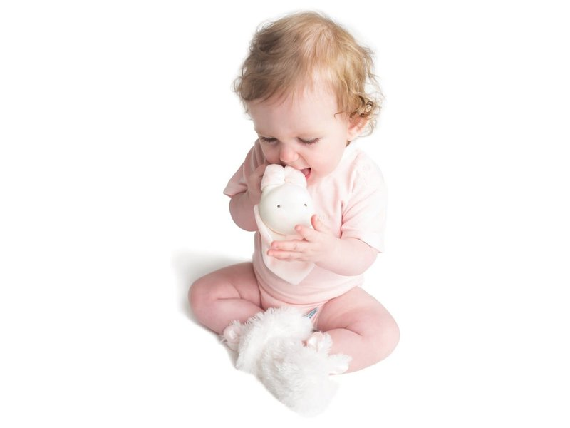 Bunnies by the Bay Blossom Ear-resistible Teether