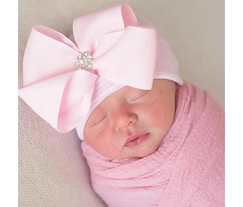 Nursery beanies -Bella Bow