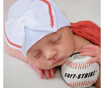 Nursery beanies -Baseball Sweetie