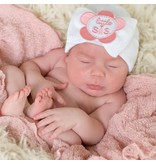 Nursery beanies -White Little Sis
