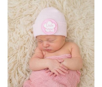 Nursery beanies -Pink Little Sister