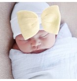 Nursery beanies -Sunshine bow