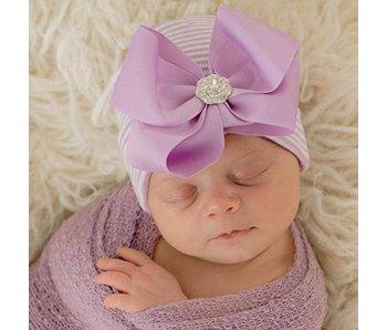 Nursery beanies -Ciara bow
