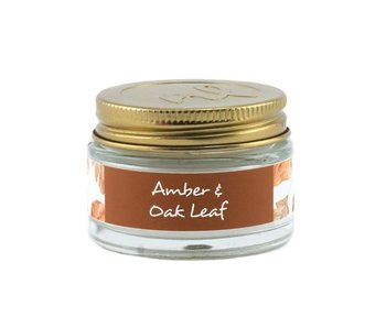 Northern Lights 1 Oz. candle -Amber & Oak Leaf