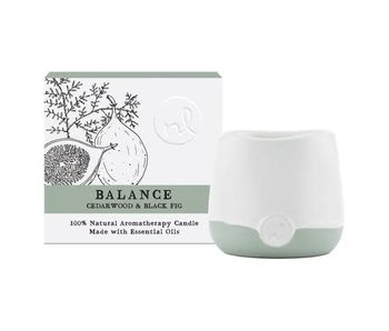 Northern Lights Prana-Aroma Jar 4 oz. Balance -Cedarwood & Black Fig