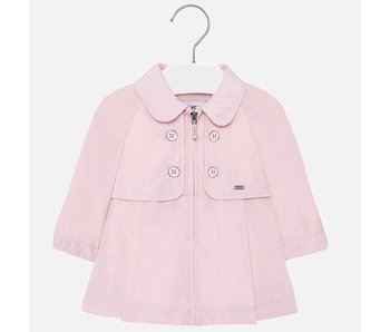 Mayoral Windbreaker pink jacket baby girl