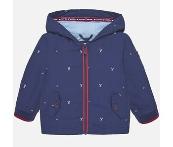 Mayoral Windbreaker navy blue jacket baby boy