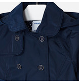 Mayoral Trench coat girl navy blue