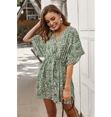 Mountain Valley Trading Floral mini dress