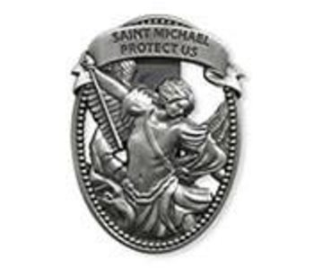 Christian Brands St. Michael Visor Clip