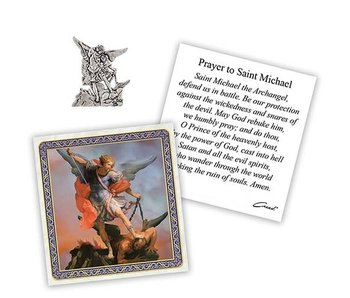 Christian Brands St. Michael Pocket Token