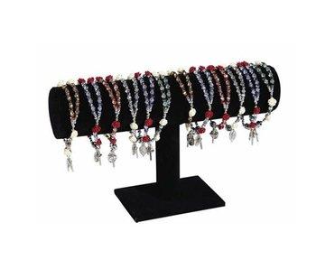 Christian Brands St. Michael Rosary Bracelet -Red