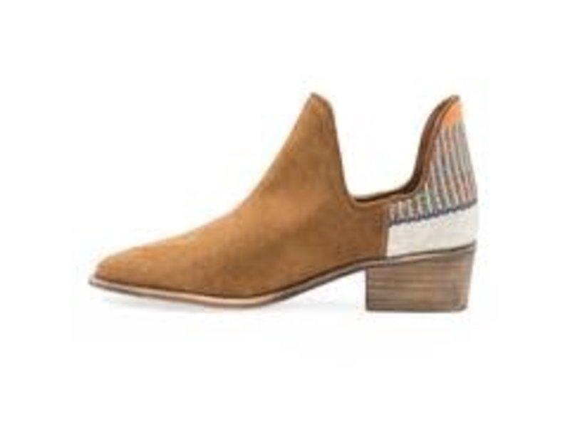 Charleston Shoe Co. Aiken bootie -brown/orange