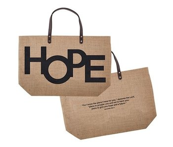 Creative Brands HOPE jute bag
