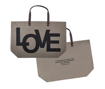 Creative Brands LOVE jute bag