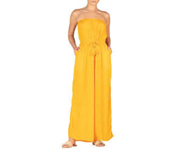 Elan Strapless Jumper marigold