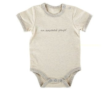 Creative Brands An Answered Prayer baby onesie -size 0-3 months