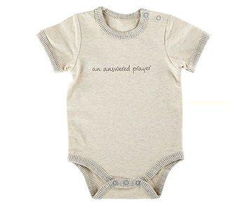 Creative Brands An Answered Prayer baby onesie -size 0-3 months