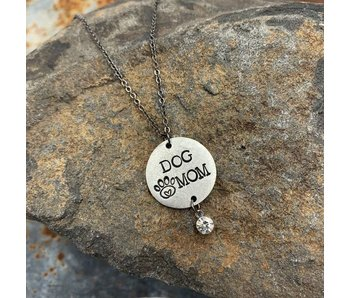 Buffalo Girls Salvage Dog Mom Necklace -Pet Lover