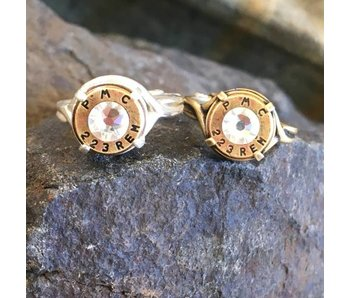 Buffalo Girls Salvage Bullet Crown Adjustable Ring