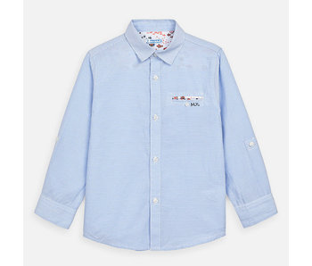 Mayoral Mayoral -boys LS dress shirt