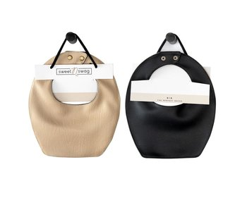 Vegan Leather REVERSIBLE BIB
