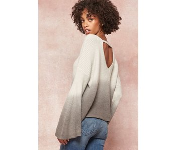 Promesa USA Ombre sweater with bell sleeves