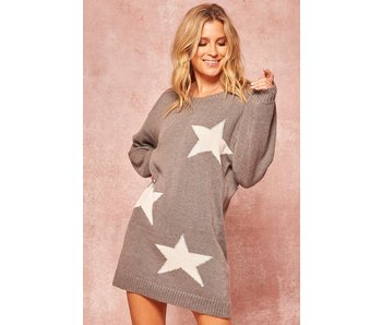 Promesa USA Star sweater dress