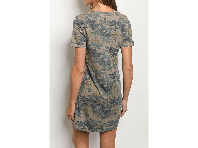 11 Degrees Camo Dress