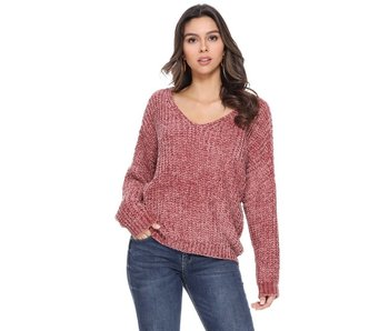 1 Funky V-neck or off shoulder soft & comfy sweater
