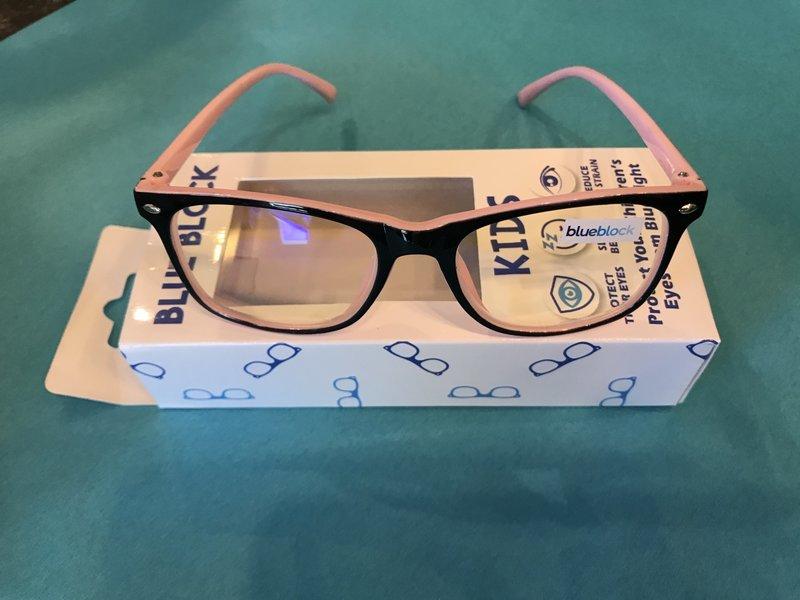 Blue Gem Kids blue block blue light glasses